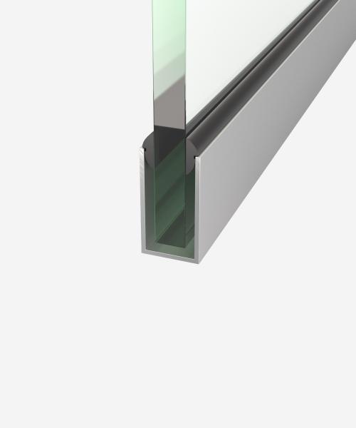 Швелер алюмінієвий 19,2х35,8 х1,6 мм
