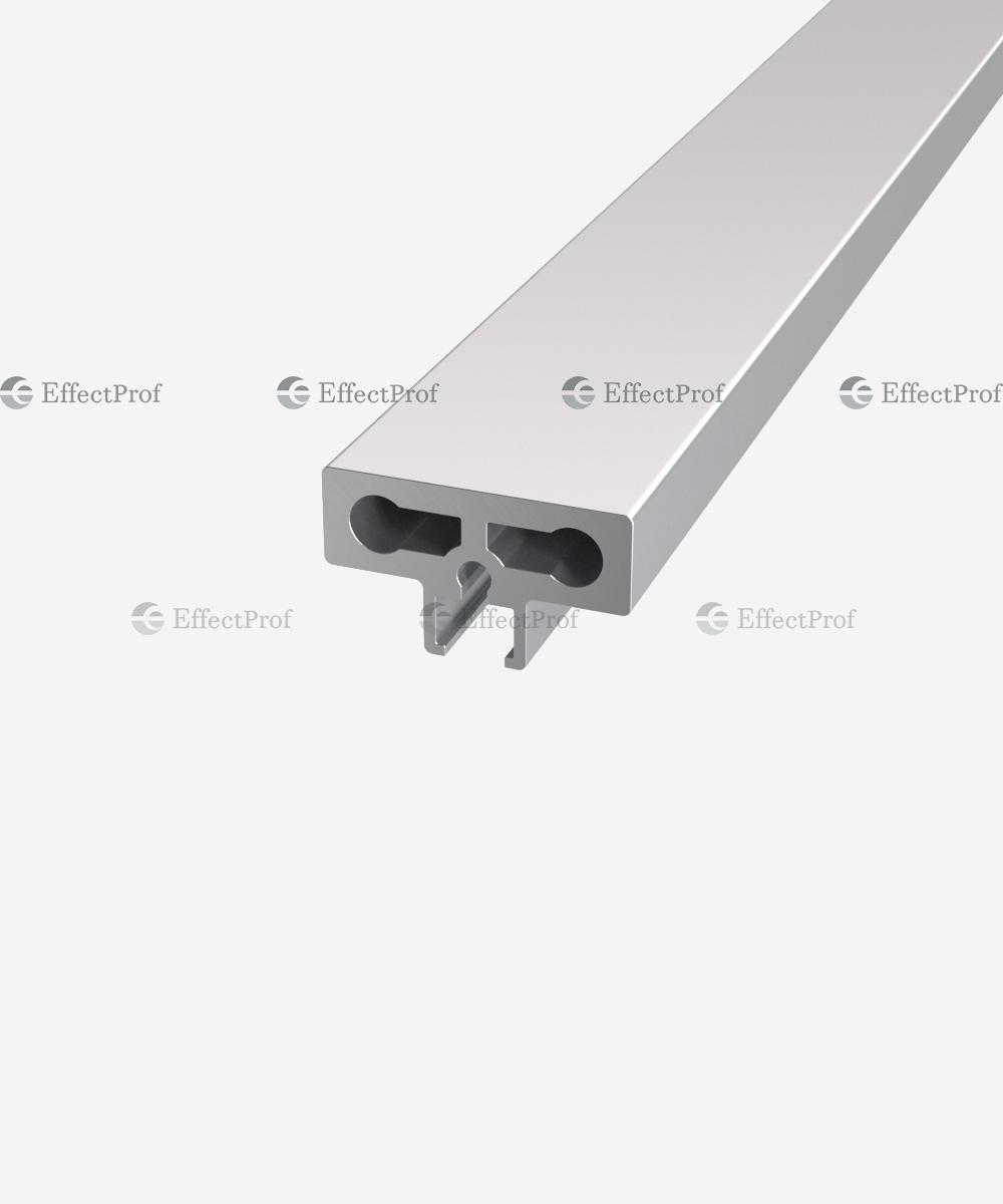 Вертикальний профіль для скла 6 мм