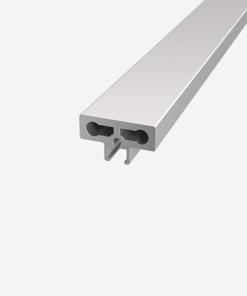 Вертикальний профіль для скла   6мм