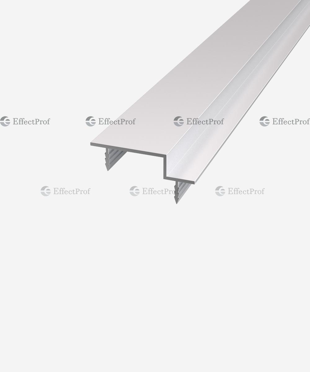 Профіль дверного полотна торцевий з чвертю під полотно 57 мм