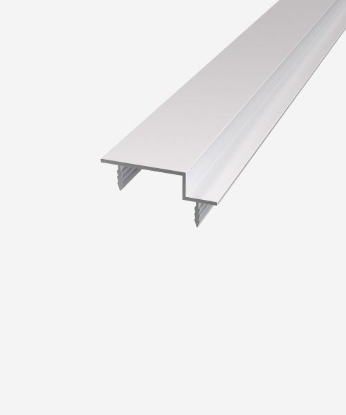 Профіль дверного полотна торцевий з чвертю під полотно 45 мм