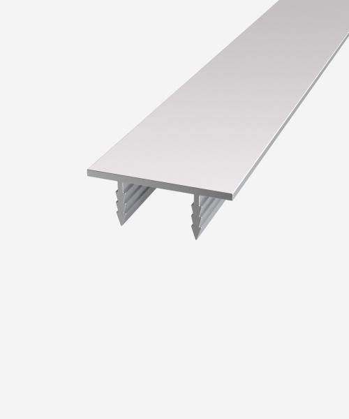 Профіль дверного полотна торцевий П-подібний алюмінієвий 42мм