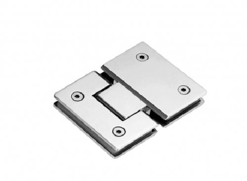 K-102 Glass hinge glass with fixation 180