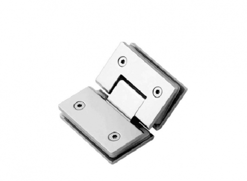 K-103 Glass hinge glass with fixation 135
