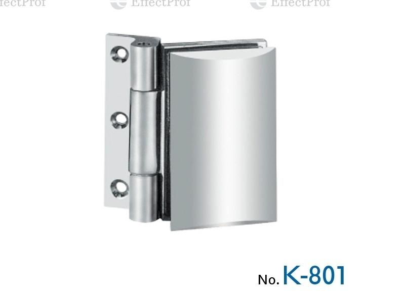 K-801 Петля стіна-скло без фіксації