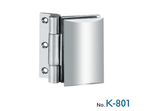 K-801 Wall hinge - glass without fixing