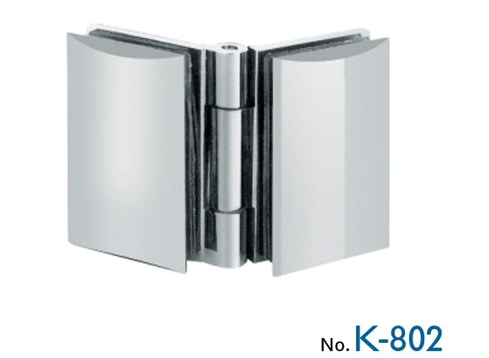 К-802 Glass-glass hinge without fixation