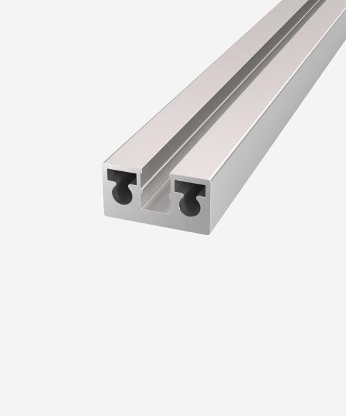 Вертикальний профіль для скла 8 мм