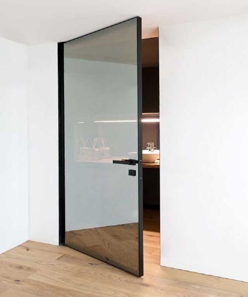Алюмінієве полотно для одностворчатих дверей