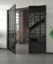 Притворна планка для алюмінієвої рами скляних дверей