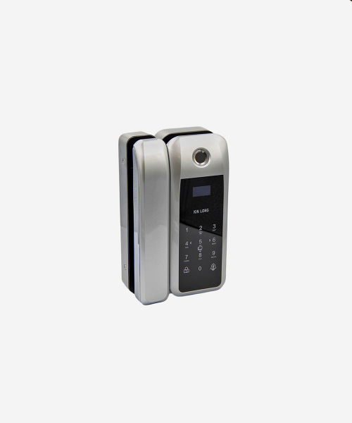 SNZ 21000 Glass smart door lock з відповідною частиною на скло