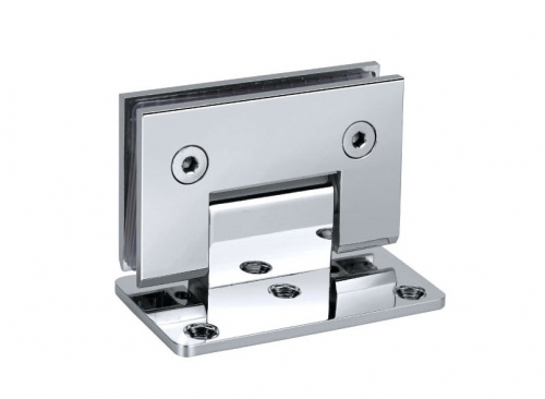 V-9001 Hinge wall glass with fixing one-sided fixing